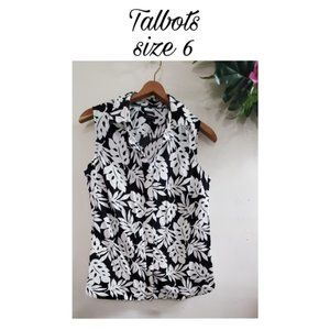 Talbots wrinkle resistant button up shirt 6